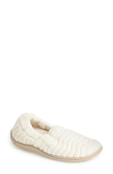 Acorn 'Spa Support' Moc Slipper Women White