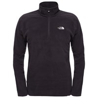 The North Face 100 Glacier 1 4 Zip Men's Fleece Black
