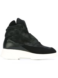 Julius Hi Top Sneakers Black