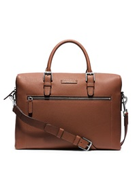 Michael Kors Large Front Zip Briefcase Brown