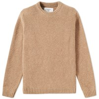 Folk X The Inoue Brothers Native Elbow Print Crew Knit Brown