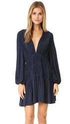 Zimmermann Adorn Scrunch Dress French Navy