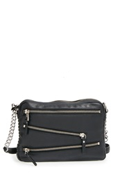 Ash 'Angel' Leather Crossbody Bag Black