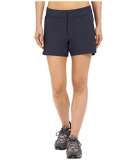 Fjall Raven High Coast Trail Shorts Navy Women's Shorts
