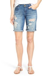 Women's Kut From The Kloth 'Catherine' Distressed Boyfriend Shorts Proper