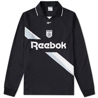 Reebok Long Sleeve Collared Training Top Black