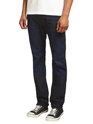 Diesel Buster Tapered Jeans Dark Blue 823K