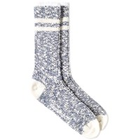 Norse Projects Bjarki Slub Socks Blue