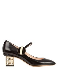 Nicholas Kirkwood Carnaby Leather Pumps Black