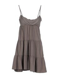 Alpha Massimo Rebecchi Dresses Short Dresses Women Khaki
