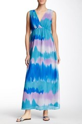 Sweet Pea Sleeveless Printed Maxi Dress Multi