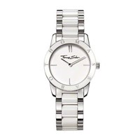Thomas Sabo Classic Stainless Steel And White Ceramic Watch
