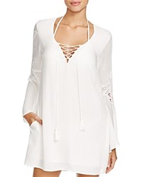 L Space L Space Island Gypsy Tunic Swim Cover Up Ivory