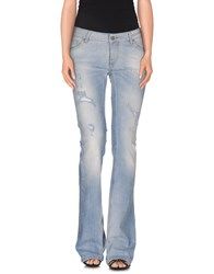 Kate Denim Denim Trousers Women Blue