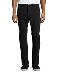 Howe Slim Straight Leg Jeans Black