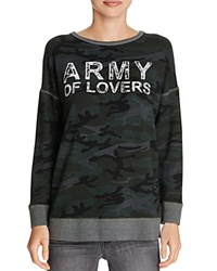 Sundry Army Of Lovers Pullover Camo