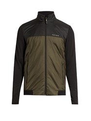 Falke Padded Performance Jacket Khaki Multi