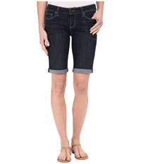 Paige Jax Knee Shorts In Lavena Lavena Women's Shorts Black