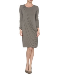 Gold Case Sogno Short Dresses Grey