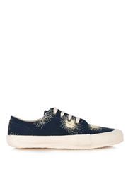 Ymc Firework Print Canvas Low Top Trainers