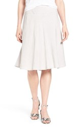 Women's Nic Zoe 'Summer Fling' Linen Blend Skirt