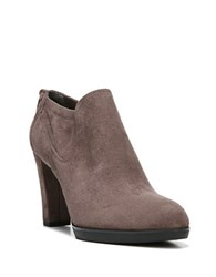 Franco Sarto Ignition Suede Booties Taupe