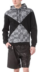 Opening Ceremony Diamond Hoodie Black