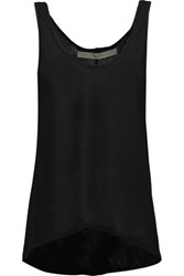 Enza Costa Stretch Jersey Tank Black