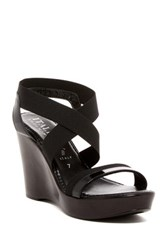 Italian Shoemakers Marnie Platform Wedge Sandal Black