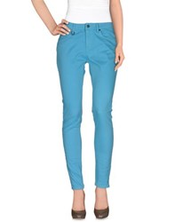 Burberry Brit Trousers Casual Trousers Women Turquoise