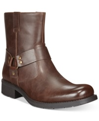 Unlisted Cop Per Coin Boots Men's Shoes Brown