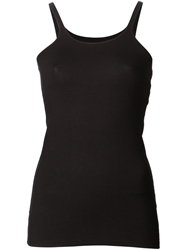 T By Alexander Wang Spandex Cami Black