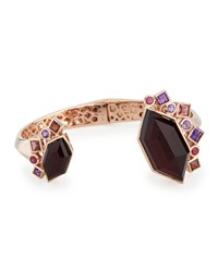 Gold Struck Garnet Ruby And Amethyst Bracelet Stephen Webster Red