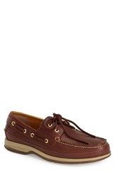 Men's Sperry 'Gold Cup 2 Eye Asv' Boat Shoe Cognac Leather