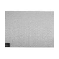 Chilewich Glassweave Rectangle Placemat Silver