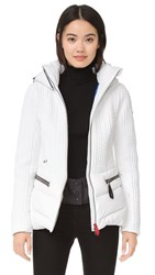 Post Card Sylvia Coat White