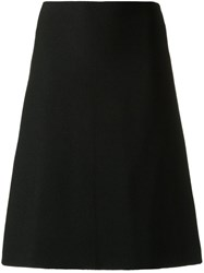 Egrey Knitted Midi Skirt Black