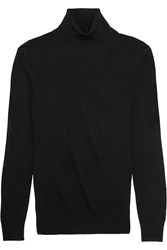Raoul Jersey Turtleneck Sweater Black