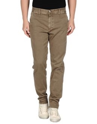 Shaft Denim Pants Khaki