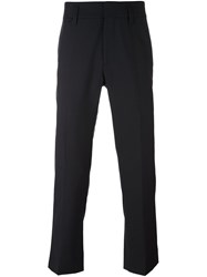 Marc Jacobs Cropped Tailored Trousers Blue