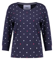 Only Onlcameron Long Sleeved Top Night Sky Dark Blue