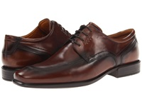 Ecco Cairo Apron Toe Tie Walnut Oxford Leather Men's Lace Up Moc Toe Shoes Brown