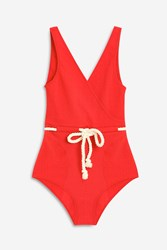 Lisa Marie Fernandez Yasmin Swimsuit Red