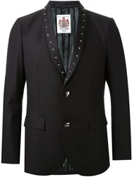 Education From Youngmachines Studded Lapels Blazer Black