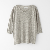 Objects Without Meaning Edie 3 4 Linen Tee Platinum