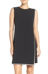 London Times Women's Embellished Stretch A Line Dress
