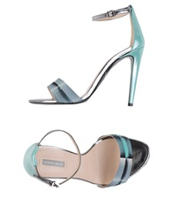 Giorgio Armani Sandals Light Green