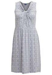 Tom Tailor Jersey Dress Steal Blue