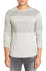 French Connection Men's 'Gossan' Microstripe Long Sleeve T Shirt