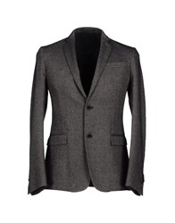 Havana And Co. Suits And Jackets Blazers Men Steel Grey